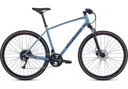 Bicicleta SPECIALIZED Crosstrail Sport - Gloss Storm Grey/Rocket Red/Black Reflective XL