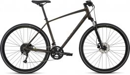Bicicleta SPECIALIZED Crosstrail Sport - Rainbow Flake Black Tint/Nearly Black/Hyper Reflective S