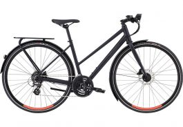 Bicicleta SPECIALIZED Women's Sirrus EQ Step-Through - Black Top LTD Satin Cast Black/Acid Lava L