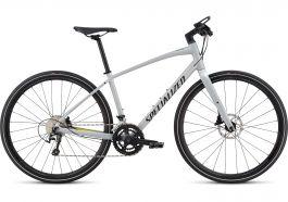 Bicicleta SPECIALIZED Sirrus Elite Alloy - Women's Spec - Filthy White/Limon/Acid Mint L