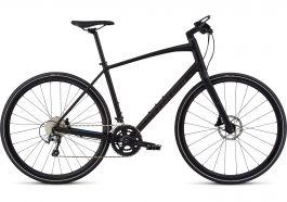 Bicicleta SPECIALIZED Sirrus Elite Alloy - Men's Spec - Black/Nearly Black/Gloss Purple Chameleon XL