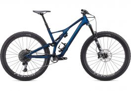 Bicicleta SPECIALIZED Stumpjumper Expert Carbon 29'' - Gloss Navy/White Mountains XL
