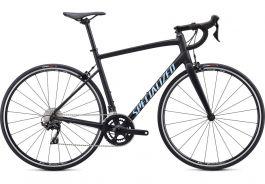Bicicleta SPECIALIZED Allez Elite - Satin Black/Blue Reflective/Clean 56