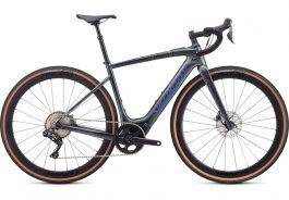 Bicicleta SPECIALIZED Turbo Creo SL Expert EVO - Black Granite/Green Blue Chameleon L