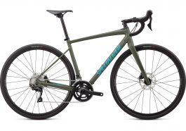 Bicicleta SPECIALIZED Diverge E5 Comp - Satin Oak Green/Aqua Camo 52