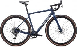 Bicicleta SPECIALIZED Diverge Expert X1 - Satin Navy/White Mountains Clean 58