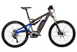 "Bicicleta CORRATEC E-XTB CX 500 27.5"" Gri/Albastru 470mm"