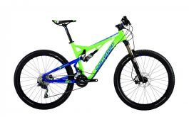Bicicleta CORRATEC Inside Link 120 Z Verde / Albastru 420mm