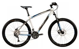 "Bicicleta CORRATEC MTB X-VERT MOTION LITE 27.5"" Alb/Negru/Albastru 490mm"