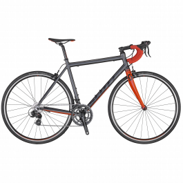 Bicicleta SCOTT Speedster 50 Gri/Negru/Rosu L 2020