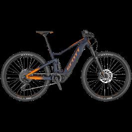 Bicicleta SCOTT Spark eRide 920 Albastru/Portocaliu M 2020