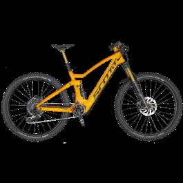 Bicicleta SCOTT Genius eRide 900 Tuned Portocaliu/Gri M 2020