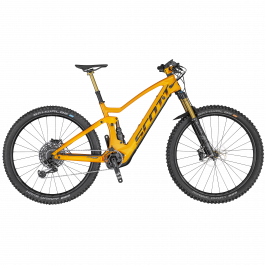 Bicicleta SCOTT Genius eRide 900 Tuned Portocaliu/Gri L 2020