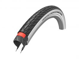 Cauciuc IMPAC STREETPAC Puncture Protection 28x1.75/47-622 B/W+RT BS100  Sarma