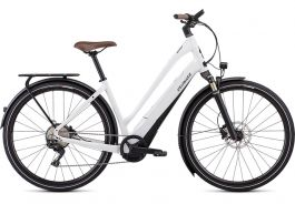 Bicicleta SPECIALIZED Turbo Como 5.0 Low-Entry - Metalic White Silver / Black SM