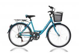 Bicicleta ULTRA Riviera CTB 26'' aluminiu Albastru 420mm