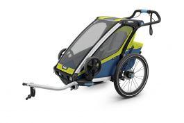 Carucior sport THULE Chariot Sport 1 - Chartreu/Mykonos