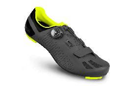 Pantofi ciclism FLR F-11 Pro Road - Negru/Galben neon 45