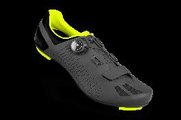 Pantofi ciclism FLR F-11 Pro Road - Negru/Galben neon 46