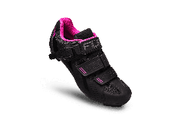 Pantofi ciclism FLR F-15 III Pro Road - Negru/Roz 39