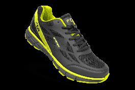 Pantofi ciclism FLR Energy Mtb - Negru/Galben neon 45