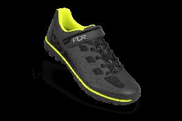 Pantofi ciclism FLR Rexston Mtb - Negru/Galben neon 38