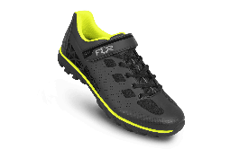 Pantofi ciclism FLR Rexston Mtb - Negru/Galben neon 43
