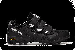 Pantofi ciclism FLR Freeride Bushmaster Mtb - Negru/Argintiu 45