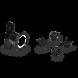 Set MTB FLR Spike parts (4 suruburi + 1 cheie)