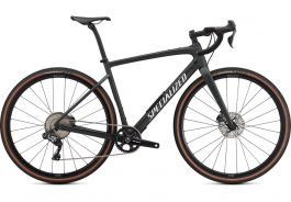 Bicicleta SPECIALIZED Diverge Expert Carbon  - Satin Oak Green Metallic/Gloss White/Chrome/Clean 56