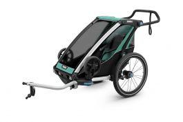 Carucior sport THULE Chariot Lite - Blue Grass/Black