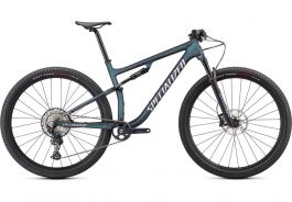 Bicicleta SPECIALIZED Epic Comp - Satin Carbon/Oil Chameleon/Flake Silver M