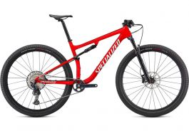 Bicicleta SPECIALIZED Epic Comp - Gloss Flo Red w/Red Ghost Pearl/Mettalic White Silver L