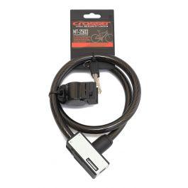 Incuietoare cablu CROSSER MT 2503 - Cheie - 15mm*900mm