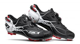 Pantofi MTB SIDI Tiger Carbon SRS negru mat/alb 42.5