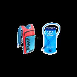 Rucsac hidratare ZEFAL L Z-Hydro rosu/albastru