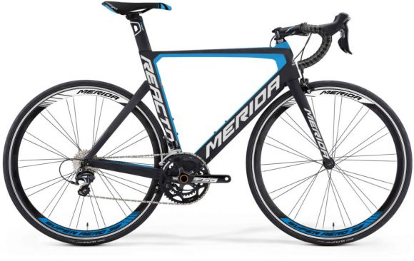 Bicicleta MERIDA Reacto 5000 52 Carbon-blu 2016