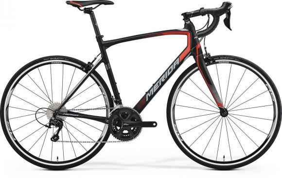Bicicleta MERIDA Ride 4000 L 56 Negru Rosu Gri 2017