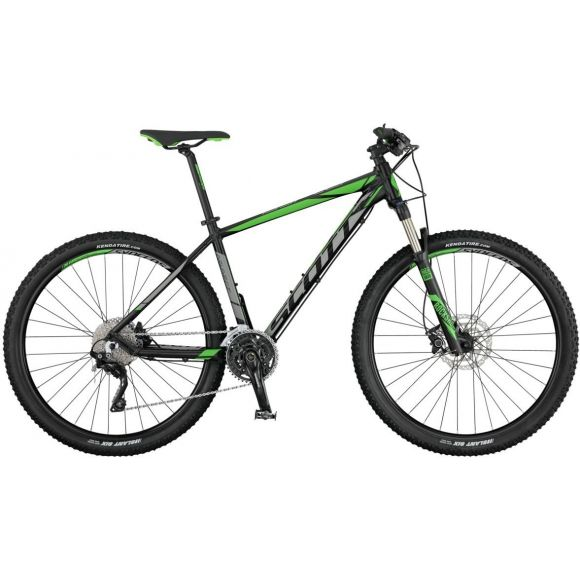 Bicicleta SCOTT Aspect 710 S Negru Gri Verde 17