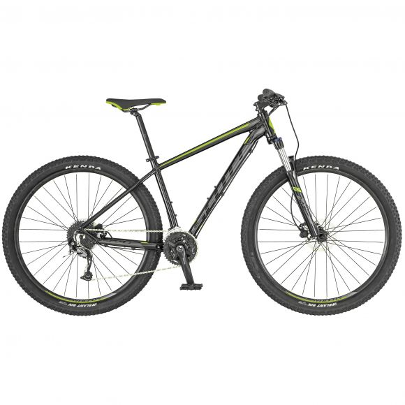 Bicicleta SCOTT Aspect 740 S 17 Negru Galben Gri 2017