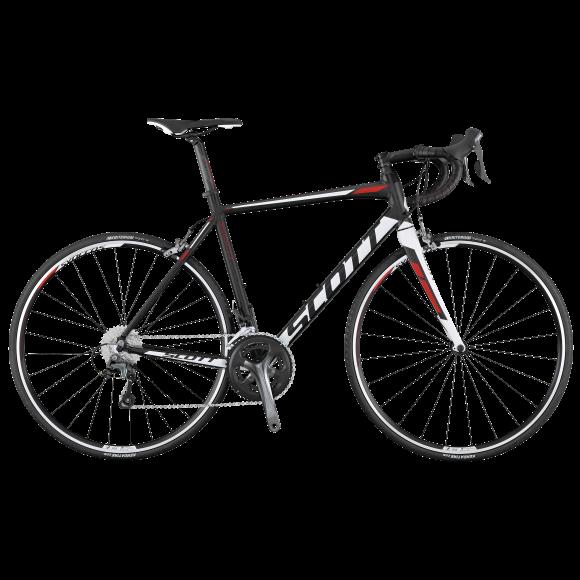 Bicicleta SCOTT Speedster 20 Compact L56 Bk W Red 17