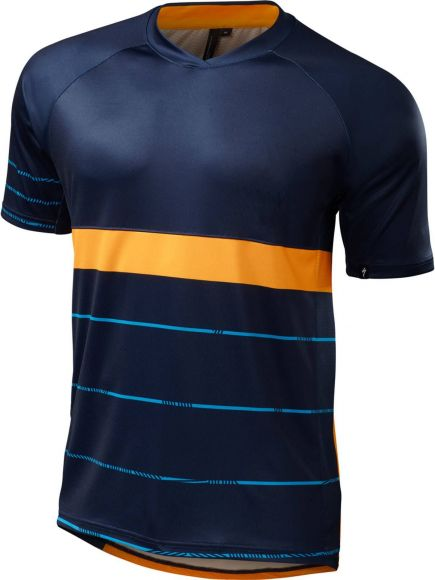 Tricou SPECIALIZED Enduro Comp - Navy/Gallardo/Orange L