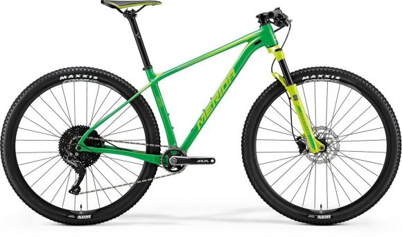 Bicicleta MERIDA Big Nine Limited XXL(23) Verde (Verde Deschis) 2018