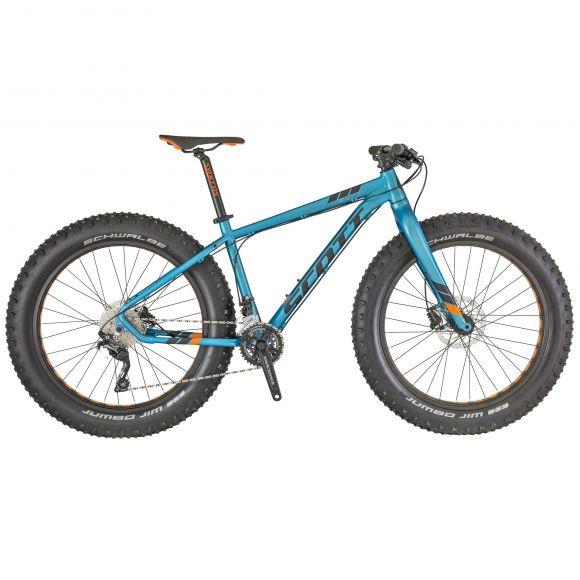 Bicicleta SCOTT Big Jon L Albastru/Negru/Portocaliu 2018
