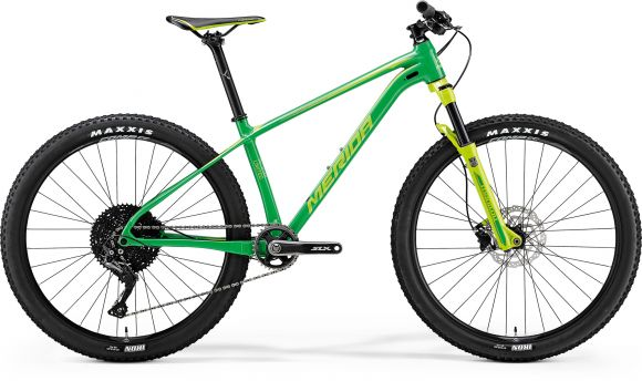 Bicicleta MERIDA Big Seven Limited M(17) Verde (Verde deschis) 2018