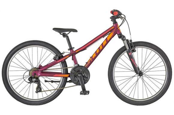 Bicicleta SCOTT Contessa Jr 24 Mov/Portocaliu/Roz 2018