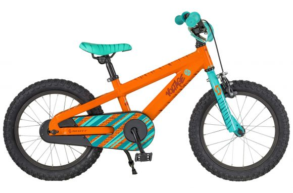 Bicicleta SCOTT Voltage Jr 16 Portocaliu/Turquoise 2018