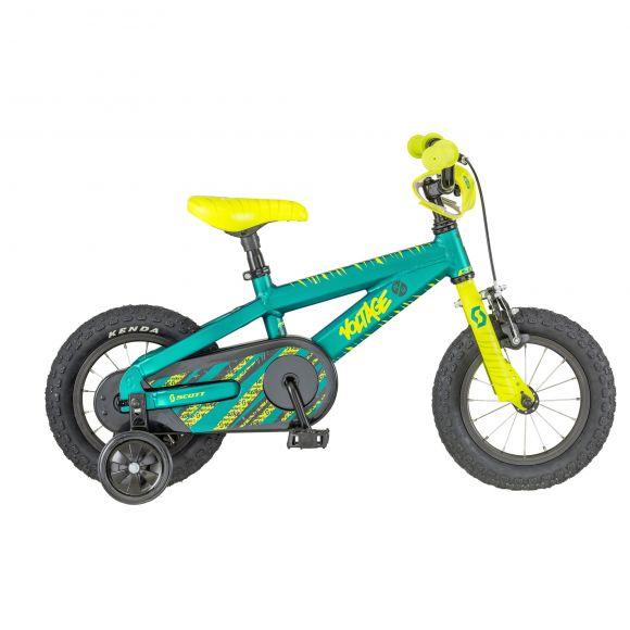 Bicicleta SCOTT Voltage Jr 12 Verde/Galben 2018