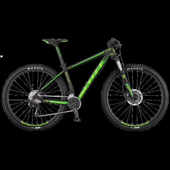 Bicicleta SCOTT Scale 930 M Negru/Galben 2018