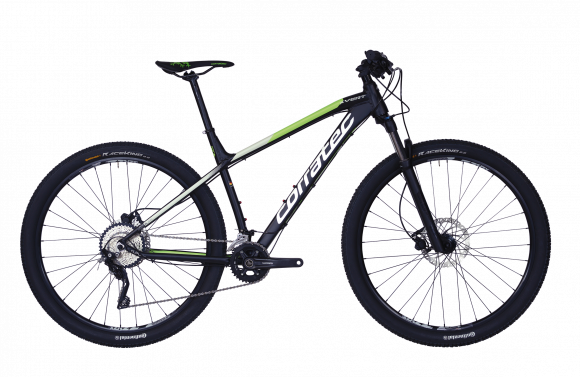 Bicicleta CORRATEC X-Vert Elite 29 negru / verde / alb - 540mm